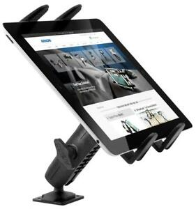 Drill-Base Tablet Mount Truck Heavy-Duty for Samsung Galaxy Apple iPad Air Pro