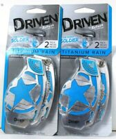 2 Driven By Refresh Your Car The Scent Soldier 2 Ct Titanium Rain Air Freshener