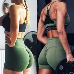 Tik Tok 2 in 1 Women's  High Waist  Yoga  Hot Pants Workout Shorts for Athletic
