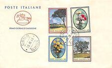 FDC Cavallino - Italia -1966 - Flora - NVG - annullo Como filatelico