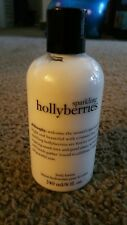 Philosophy Sparkling Hollyberries body lotion 8 oz /240ml Sealed  new