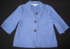 CRAZY 8 Girl's French Blue 3/4 Length Sleeve Jacket Size S (5/6)
