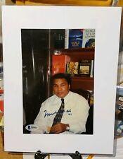 Muhammad Ali Signed 5.5x8 Photo Beckett LOA Boxing HOFAuto BAS Autograph GOAT!