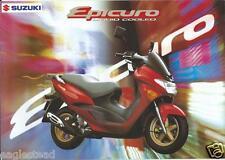 Scooter Brochure - Suzuki - Epicuro - Liquid Cooled - 1998 (Dc412)
