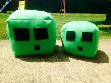 NEW Handmade Minecraft Slime Plush/Pillow Toys!