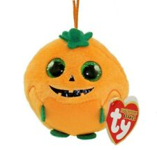 New Ty Beanie Babies Boos Halloweenie Beanies Punkin The Pumpkin Halloween Plush