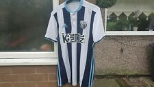 West Bromwich Albion Wba Football Home Shirt 2016 Size Medium M
