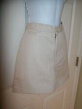NEW NWT Womens khaki shorts Dockers Flat Front 100% Cotton high waist size 8-10