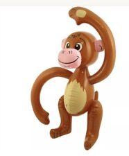 GONFIABILE Saltare in aria Scimmia Scimpanzè Tropicale Hawaii Costume Festa Swim 58cm UK