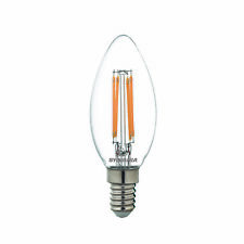 Sylvania dimmable LED candle light bulb E14 SES 4.5W = 40W 470lm warm white
