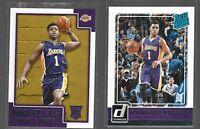Rookie card lot D'angelo Russell 2015-16 Donruss & NBA HOOPS - PSA 10 ?