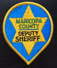 Vintage Maricopa County Sheriff Police Shoulder Patch Flash USA United States
