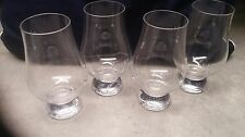 SET of 4 LAPHROAIG SINGLE MALT GLENCAIRN STYLE SCOTCH WHISKY GLASSES
