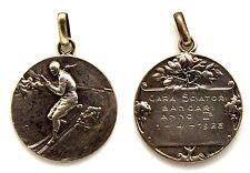 Medaglia Sportiva Sci - Bancari Anno II° 1928 Argento 800 Diametro cm 2,4 g. 5,5