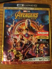 Avengers: Infinity War (4K Mastering, With Blu-ray) No Digital