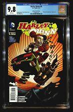Harley Quinn #8 (2014) CGC 9.8 Johnson Batman 75th Anniversary Variant Cover