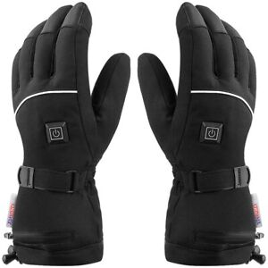 Ynredee 4.5V Electric Heated Gloves with Touch Screen for Unisex,Outdoor Sports