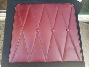1968-1969 Lincoln continenal front seat back cover burgundy
