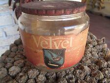 Velvet Pipe Tobacco Duraglas Jar Humidor