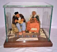 1930's Bernard Ravca French Miniature Ensemble Dolls Bread Crumbs & Cloth