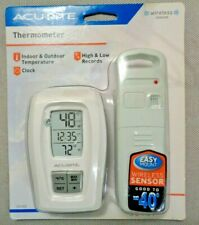 ACURITE thermometer 00418 wireless indoor & outdoor