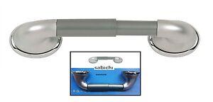 SABICHI ATLANTIS SATIN CHROME FINISH TOILET LOO ROLL PAPER HOLDER WALL MOUNTED C
