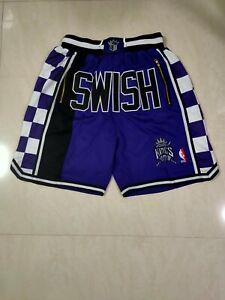 Sacramento Kings SWISH Mitchell & Ness Jersey Shorts, Jersey Shorts