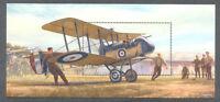 Jersey-The Great War -World War I-Aviation-mnh min sheet 2017-Military