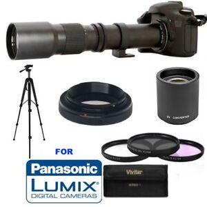 500mm/1000mm Lens for Panasonic Lumix GH5 GH4 GH3 GX85 G85 GX850 GX8 GX7 G7 G6