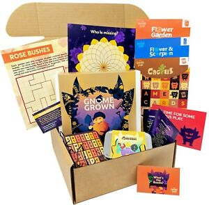 BuzzleBox 1: Gardens and Chickens. The Original Family Board Game and Puzzle Box