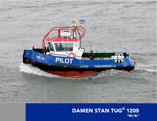 Damen stan tug 1205 Scale 1/35  370 MM  Model ship kit for RC model