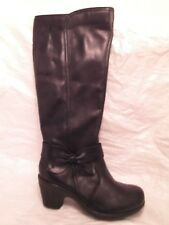 HOTTER NORFOLK LEATHER BOOTS SIZE 3 STD FITTTING BLACK