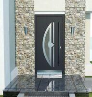 Door Modern Solid External  Aluminium with UPVC WH75 NY2110 Entrance Front Door