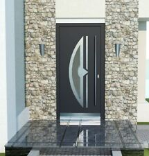 Front Door Modern Solid External  Aluminium with UPVC WH75 NY2010 Entrance  Door