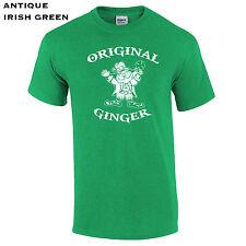270 Original Ginger Mens T-Shirt st pattys day clover drink college leprechaun #
