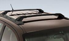 GENUINE FORD SX SY SZ + MK2 TERRITORY BLACK CARRY BARS ROOF RACKS 80KG CAPACITY