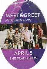 Beach Boys Concert Backstage Pass All Access  or Meet & Greet Laminate or Cloth