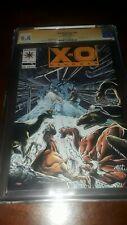 Signed X-O Manowar #15 CGC SS 9.4 (1993) - Bob Layton Turok APP Valiant Comics