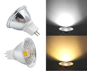 MR16 GU5.3 LED Light Cup COB 1511 5W AC DC12V/110/220V Spotlight Equivalent 60W