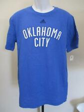 New Oklahoma Thunder Youths Size XL XLarge 18/20 Blue Adidas Shirt