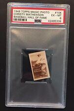 1948 Topps Magic Photo HOF Christy Mathewson #10K PSA 6 EX-MT