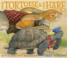 The Tortoise and the Hare by Jerry Pinkney (2013, Picture Book)