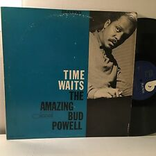 BUD POWELL Time Waits LP Blue Note BST-81498 early 1970s (1958) EX vinyl