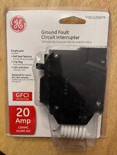 Ge Thql1120Gftp Single Pole 20A Gfci Circuit Breaker