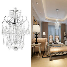 Modern Crystal Chandelier Lighting Hanging Lamp Ceiling Pendant Light Fixture