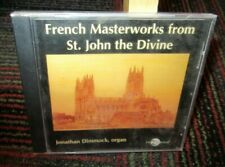 JONATHAN DIMMOCK: FRENCH MASTERWORKS FROM ST. JOHN THE DIVINE MUSIC CD, 8 TRACKS