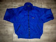 Patagonia Vintage Blue Jacket Men's Fleece Lined Coat Size Medium Made in USA