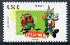 STAMP / TIMBRE  FRANCE  N° 4340 ** DESSIN ANIME / BUGS BUNNY ET DAFFY DUCK