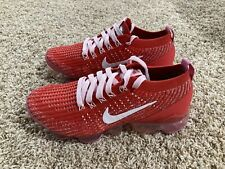 Nike Air Vapormax Flyknit 3 Running Shoes Trace Red CU4756-600 Women's Size 7