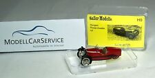 Saller Modelle 1/87: A8733 Morgan Threewheler (1934), weinrot